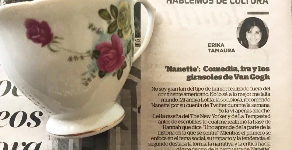 """""""Nanette"""":Comedia, ira y los girasoles de Van Gogh."""